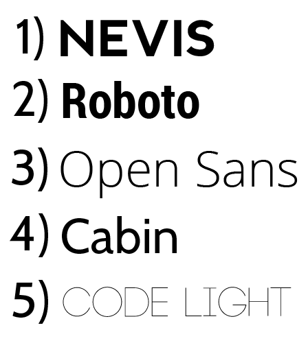 5 Awesome, Free Sans-Serif Fonts for Designers