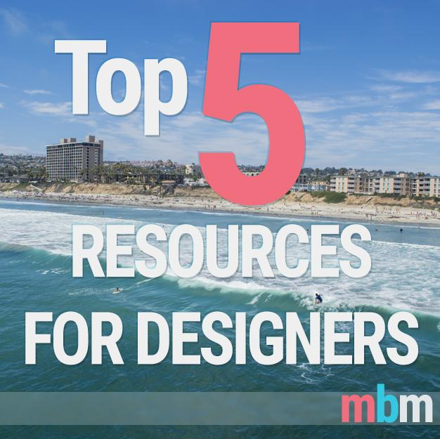 MBM's Top 5 Graphic Design Web Resources OTM
